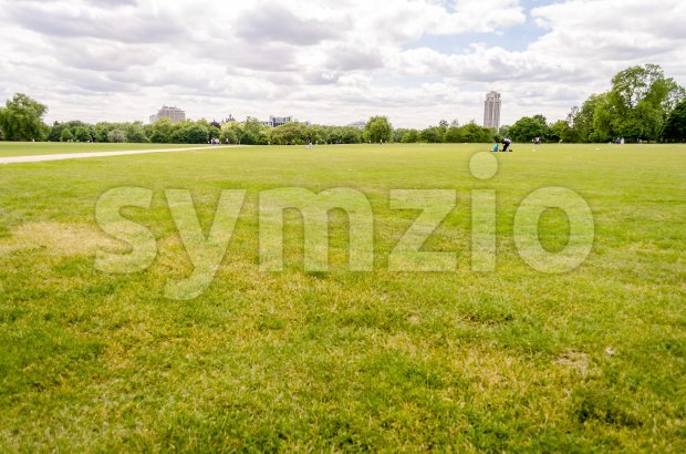 Hyde Park, London, UK Stock Photo