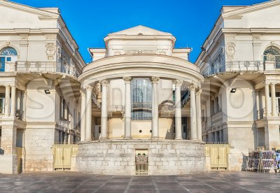 Palace of Children and Youth Creativity, landmark in Sevastopol, Crimea Stock Photo