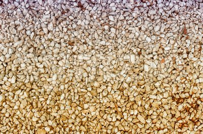 Background of small pebbles texture Stock Photo