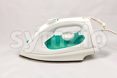 Electric steam flat iron Stock Photo