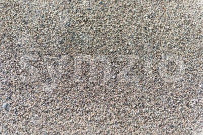 Detailed sand texture on a sandy beach Stock Photo